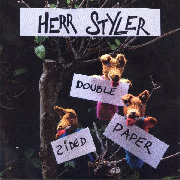 Herr Styler - double sided player record cover