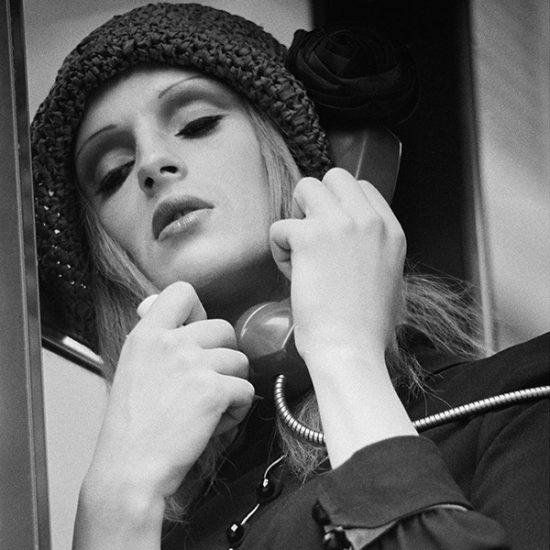 CD girl on phone