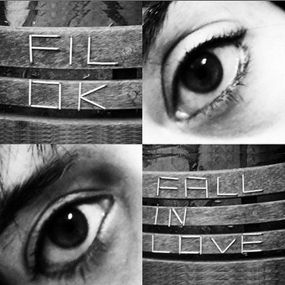 Fill Ok - Fall in Love record sleeve