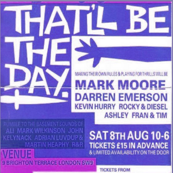 Mark Moore Sign of the Times Pt 1 That Will Be The Day