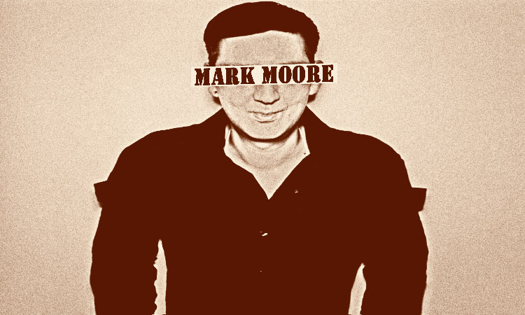 Mark Moore S-Express 'wanted' type photo