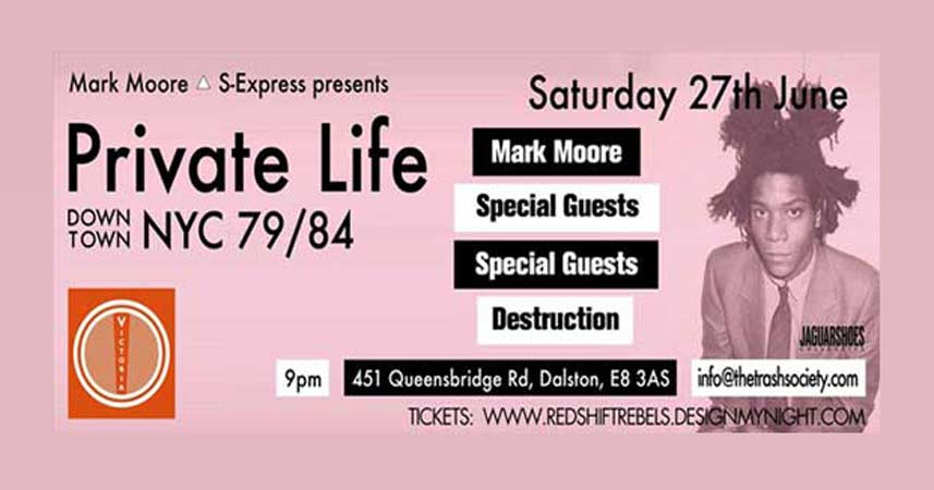 Private Life Party June 2015 - Mark Moore NYC
