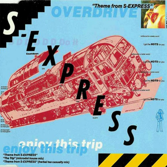 Theme from S-Express record cover