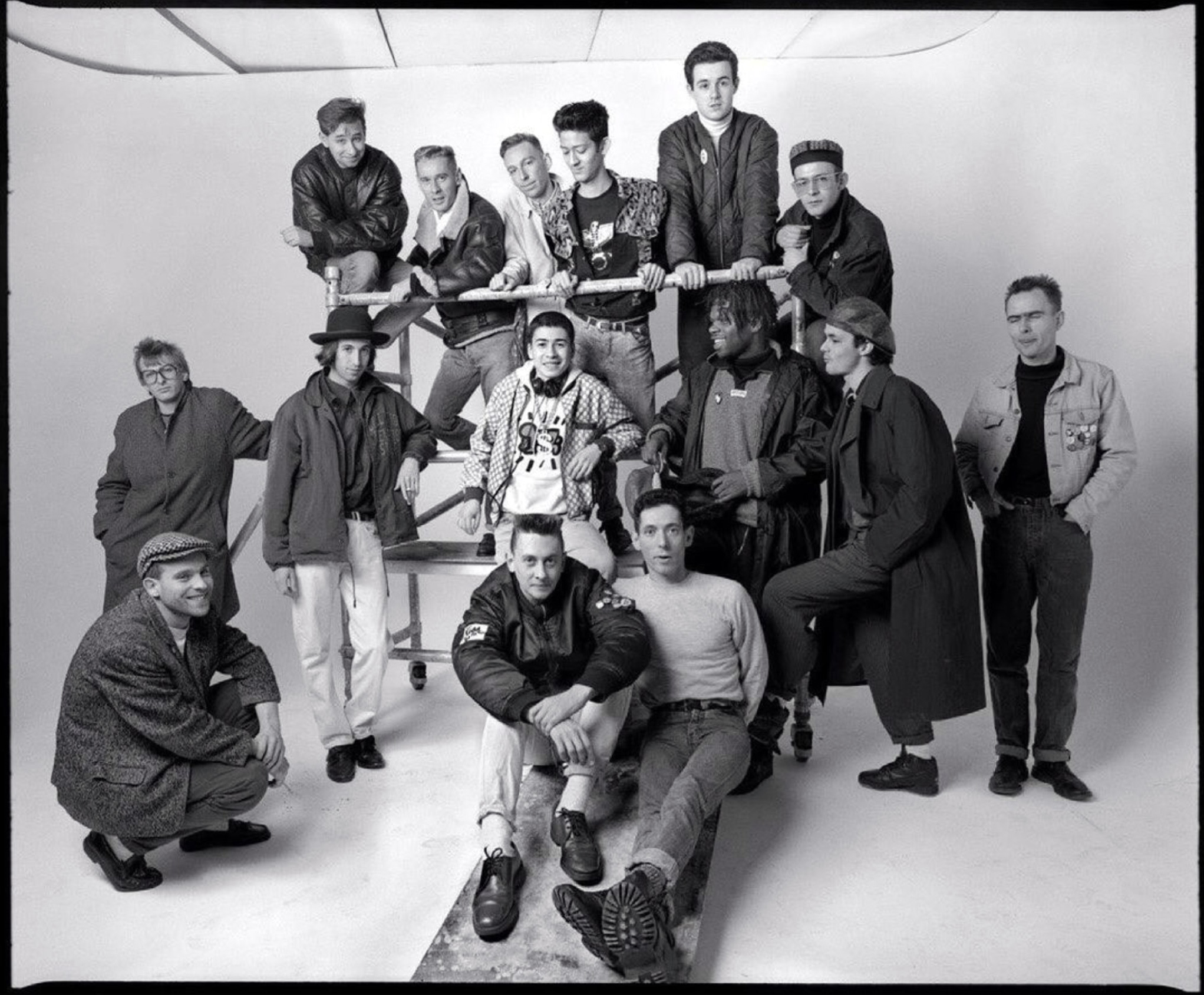 Mark Moore & other superstar DJs for an ID Mag shoot