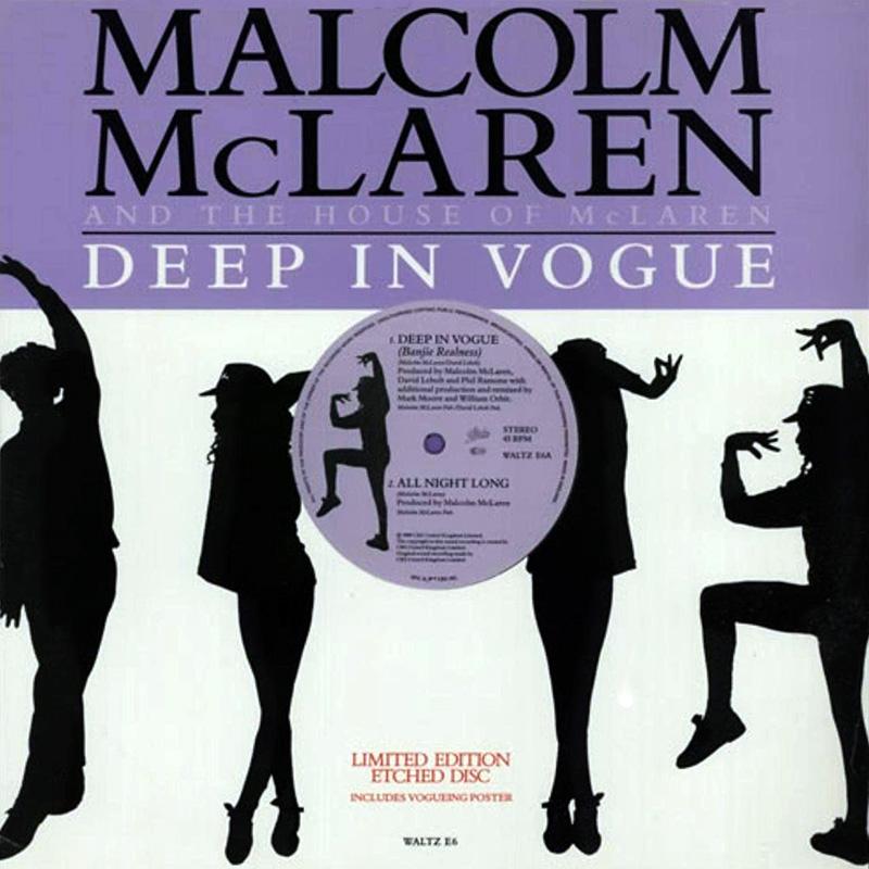 Malcolm McLaren – Deep In Vogue Mark Moore Remix