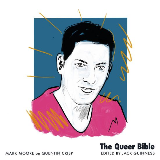 Mark Moore illustration for The Queer Bible book