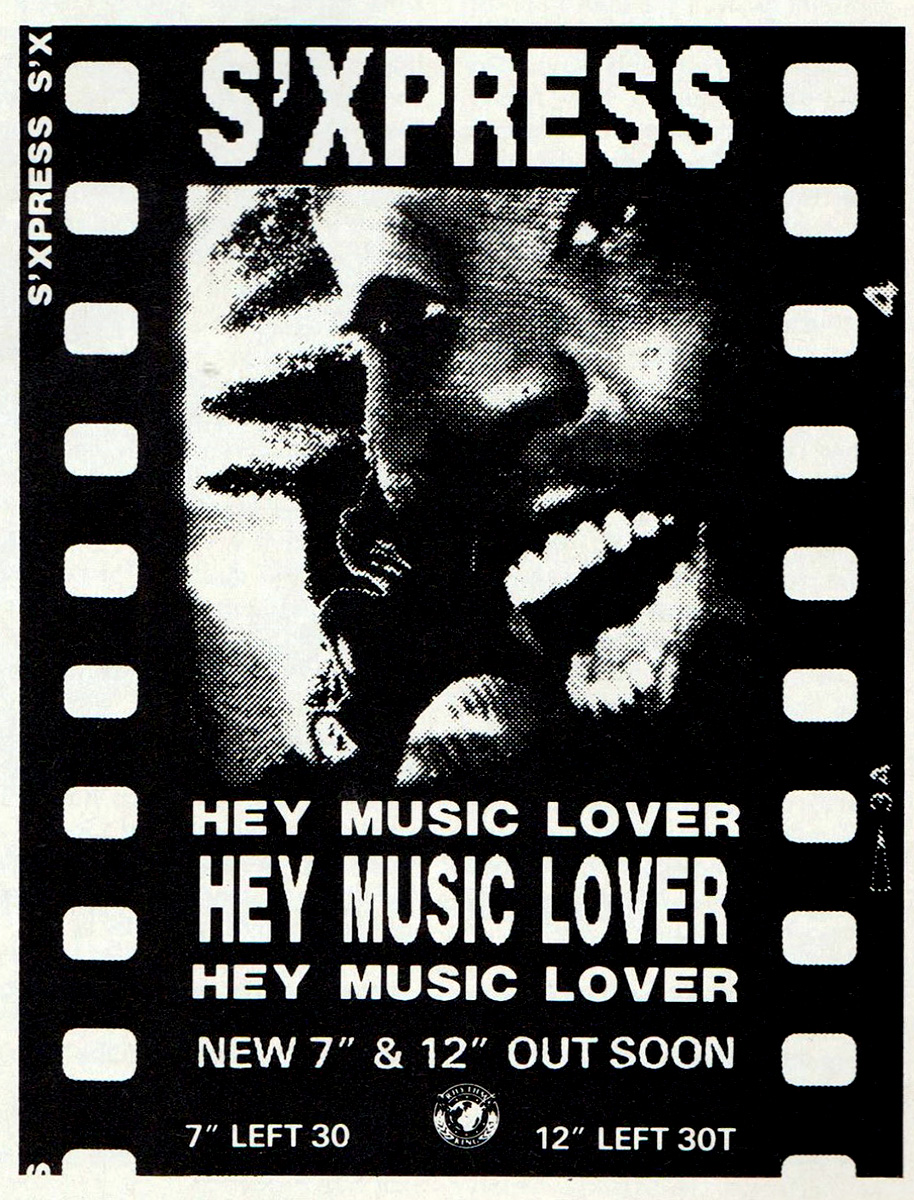 Hey Music Lover Ad S'Express