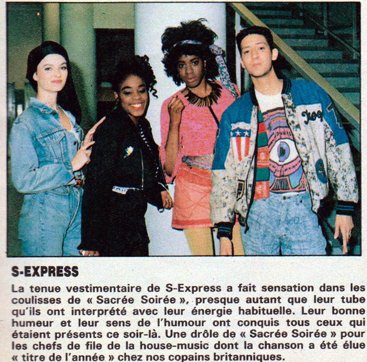 Mark Moore S'Express Salut Magazine