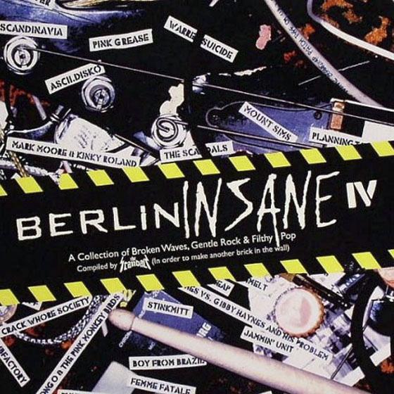 Mark Moore Berlin Insane IV album