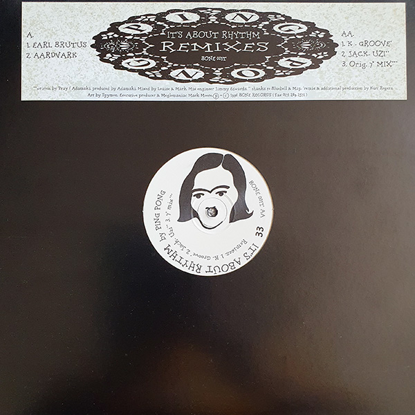 Ping Pong - It's About Rhythm Remixes vinyl 12 inch record