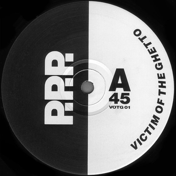 S-Express Victim of the ghetto vinyl 12 inch record label