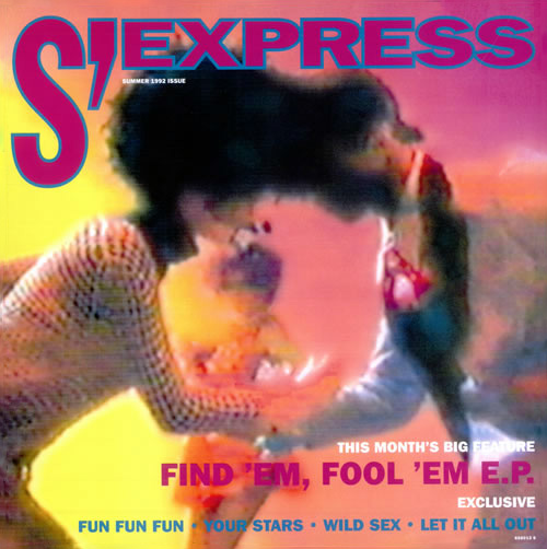S'Express Find 'Em Fool 'Em E.P. vinyl 12 inch record