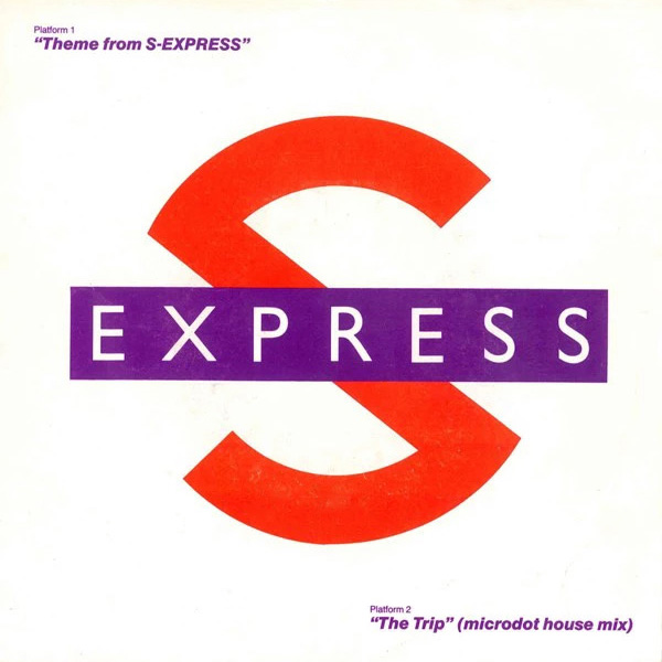 Theme From S'Express Single vinyl 7 inch record