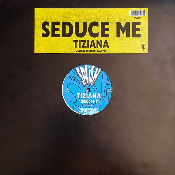 Tiziana – Seduce Me (1991) vinyl 12 inch record