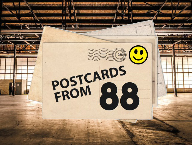 Mark Moore Postcards from 88