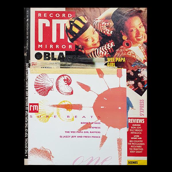 S'Express Coma Free EP Record Mirror